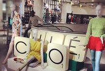 R E T A I L / I N - S T O R E / In store displays and ideas we enjoy #notourwork