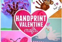 Valentine's Day / Fun crafts, delicious food and exciting ways to celebrate Valentine's Day with your kids!