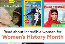 Women's History Month / Kids can learn and have fun during Women's History Month with these books, snacks and activities!