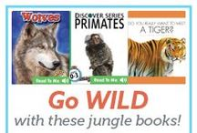 Jungles / Learn about jungles through engaging books, fun crafts and delicious jungle-themed snacks!