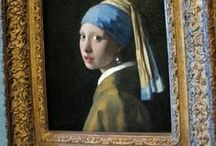Girl with a Pearl Earring / The story is set in 17th century Delft, Holland. A young peasant maid working in the house of painter Johannes Vermeer becomes his talented assistant and the model for one of his most famous works.