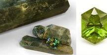 Gemstone Rough Transformation / Stunning images showing the transformation of gemstone rough into beautiful jewelry.