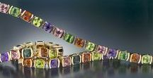 Bracelets / Gorgeous colored gemstone bracelets. Fair trade, responsibly sourced and handcrafted in USA.