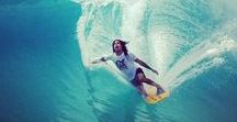 Surfing and wave photographs / The best of surfing and wave photography. Live the dream