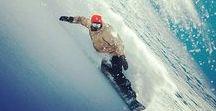 Skiing & Snowboarding Out on the Slopes / Pow pow