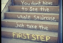 Take A Step Forward / by Amy Johnstone