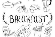 BREAKFAST & TEA organization / by UP ART BCN