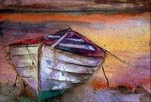 SEASCAPES/LAKES ETC - ART / Any season