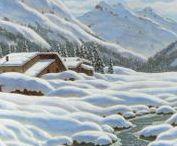 WINTER LANDSCAPES - ART