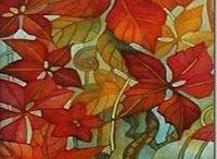 LEAVES - ART / Tree and flower leaves