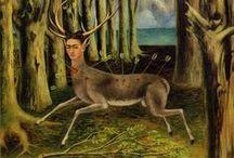 Kahlo / ¿Qué haría yo sin lo absurdo y lo fugaz?  Frida Kahlo / Siqueiros / Rivera