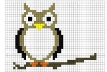owl sowa & birds ptaszki