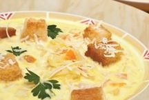 Soup Recipes / Nothing is more comforting in cold weather than a hot, hearty bowl of soup! These recipes will hit the spot.