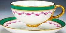 TEA TIME - VARIOUS / Love these teacups and saucers