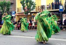 Bando de la Huerta 2015 - Murcia / Fiestas tradicionales de Murcia. Desfile de Murcia en Primavera o Batalla de las Flores.