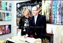 Celebrities - Célébrités - VIP - People / Meet celebrities  Rencontres avec des célébrités  Paris - Cannes - Monaco