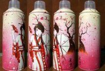 Kato Sprays / Sprays pintados a mano