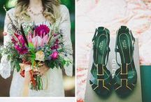 Southern Jewels Styled Shoot / Luxury styled wedding shoot / Atlanta Georgia / jewel tones / copper / floral paper / glamour