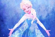 Frozen / The cold never bothered me anyway!