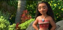 Moana/Vaiana ❤ / The ocean is calling Calling to distance And no one knows how far it goes