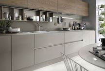 Modern kitchen matt design