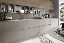 Modern kitchen matt design