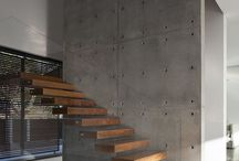 Concrete wall concrate style