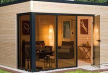 Garden home container home