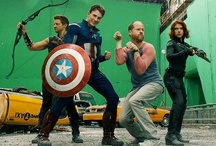 Avengers (Movie-verse) and the actors / by Renee H.