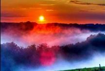 """sunset"" & ""sunrise"""