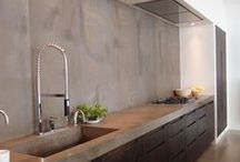 Concrete worktops  / Dreaming on concrete worktops.