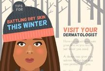 Winter Beauties! / Skin care is important in the winter! Continue to be a winter beauty with these beauty and skincare tips for the season!