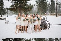 Winter Weddings  / Snow lovers, why not get married during your favorite season! Great ideas of how to have the perfect winter wedding!