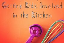Cooking with Kids / Fun, practical ideas for involving kids in cooking and preparing food. In the kitchen kids learn how to prepare food, co-operation, math, science, nutrition, and more. They're also more likely to try foods they helped make.