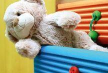 Pokój dziecięcy / Dziecięcy pokój musi być radosny! Kolorowe akcenty zawsze w tym pomogą :)