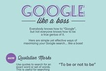Google in the Classroom / A comprehensive list of Google tips and tricks, apps, and how-to lists, for your classroom.