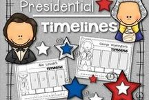 Presidents' Day Ideas in the Classroom / Looking for President-related ideas for Presidents' Day? Then you've come to the right place!