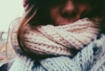 SCARVES / Something to be said about that scarf swag. Wrap it, rock it, love it.