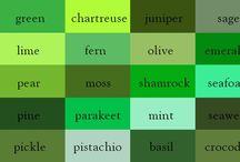 Just Greens / Moodboard Green