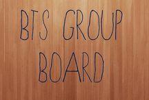 bts group board / 방턴 소년단