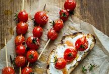 "Recipe Ideas: Tomatoes / Each week I play ""What's this Wednesday"" with my community.  We share our favourite ways to eat a healthy food - because we all could use some kitchen inspiration! #recipes for #tomatoes #tomato Join us: http://KristenYarker.com"