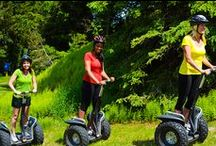 Mountain Segways / Ride into adventure through the Pocono Mountains on one of our Segways! Jump aboard our fleet of gnarly all-terrain, Mountain Segways, and get ready for a forest tour you'll never forget. / by Camelback Mountain Resort