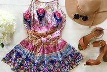 Outfits / Beautiful clothes and outfits