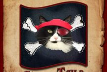 Salty Tails ~ Cat author / Fun romantic mystery