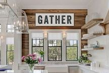 Farmhouse / Farmhouse, rustic, vintage, home. Things I love to hopefully implement in our dream home.