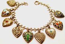 Bracelets: Charms / When you wear a charm bracelet you are never alone....Joan Munkacsi