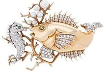 Fish & Sea Life Jewelry / by World of Eccentricity & Charm