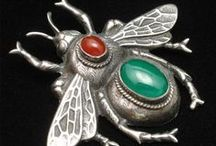 Insect Jewelry / You might also enjoy my BUTTERFLY JEWELRY board.