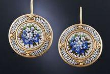 Mosaic & Pietra Dura Jewelry