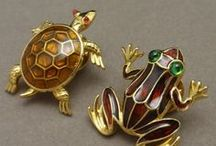 Frog & Turtle Jewelry / by World of Eccentricity & Charm